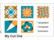 My cut line